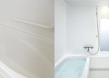 手摺り+人工大理石浴槽